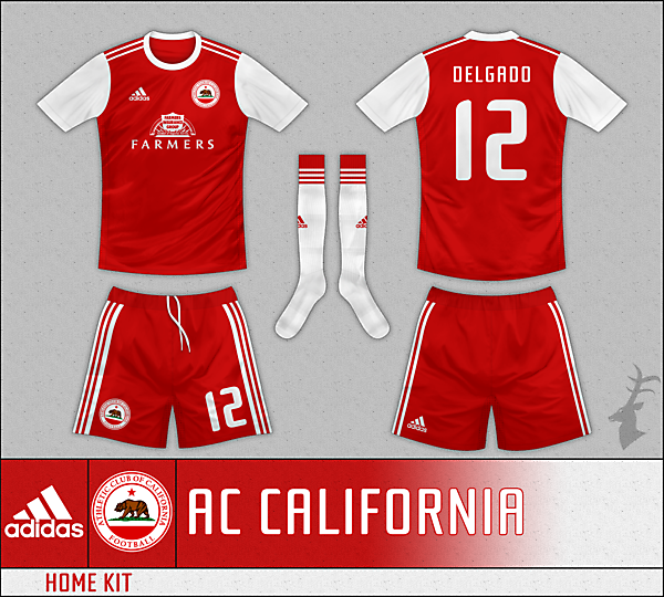 Athletic Club of California - Home Kit