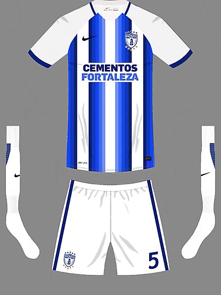 CF Pachuca home kit