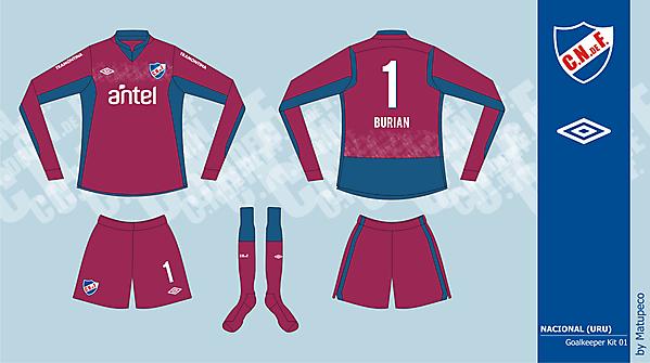 Nacional GK kit version 01