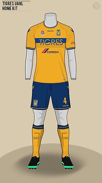 Tigres UANL  | home kit