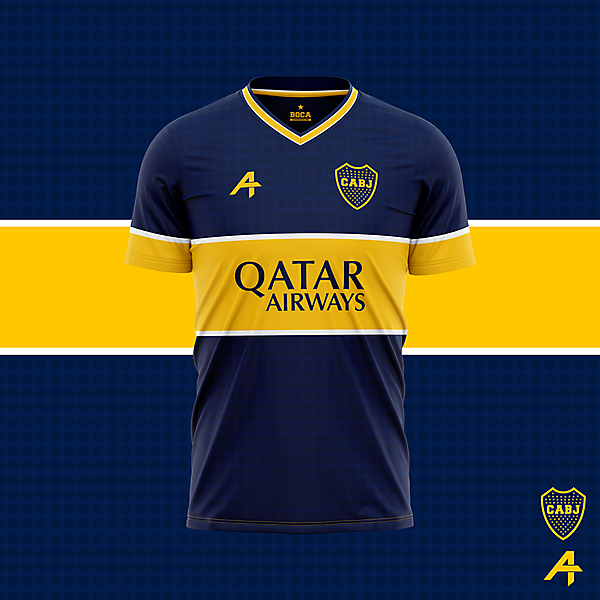 Boca Juinors home kit concept