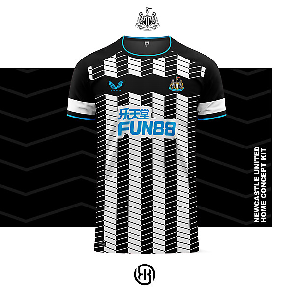 Newcastle United   Home kit concept