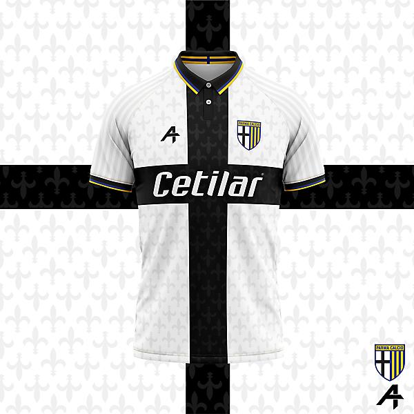 Parma Calcio home kit concept