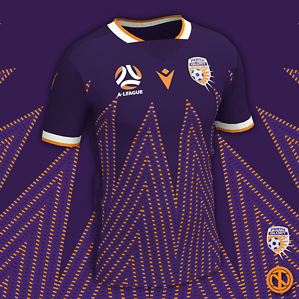 Perth Glory | Home Kit Concept