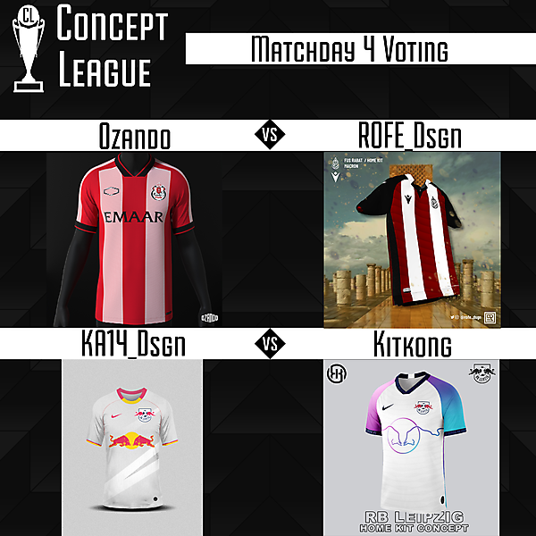Second League Matchday 4 Voting