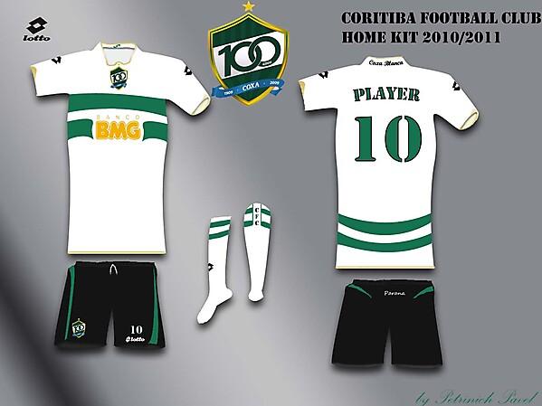 Coritiba Fc home kit #2