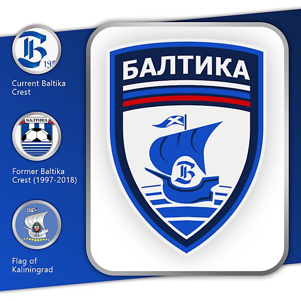 Baltika Kaliningrad   Crest Redesign
