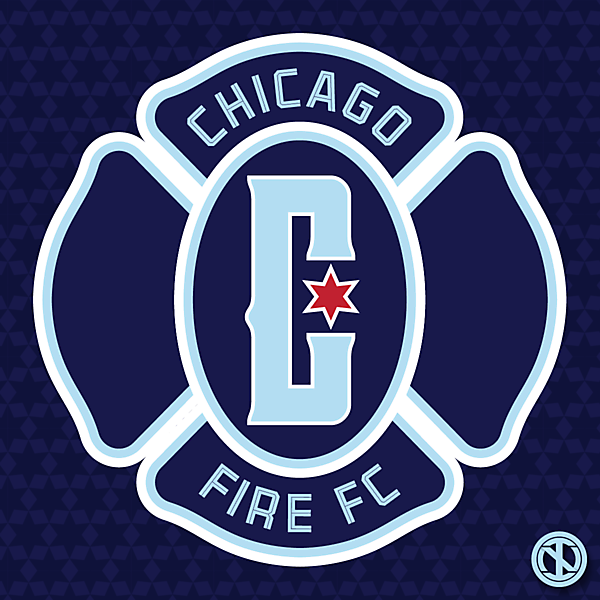 Chicago Fire   Crest Redesign Concept