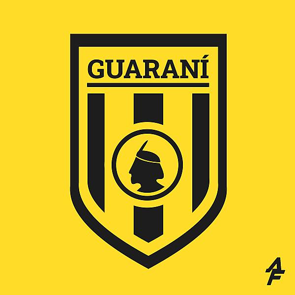 Club Guaraní Crest Redesign