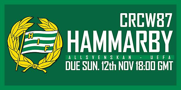 CRCW87 - HAMMARBY