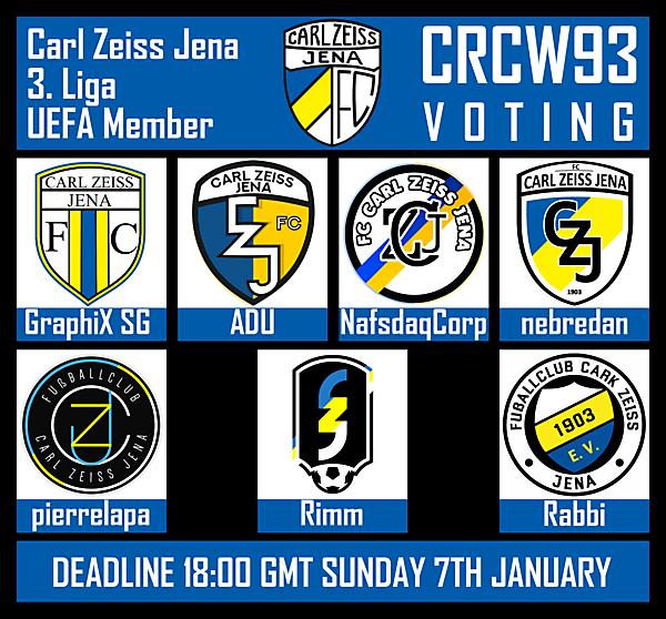 CRCW93 - VOTING