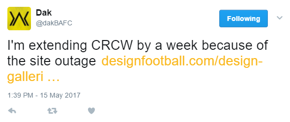 CRCW - One Week Extension