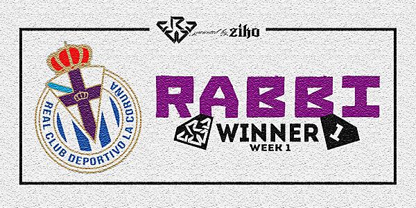 CRCW - WEEK 1 - WINNER