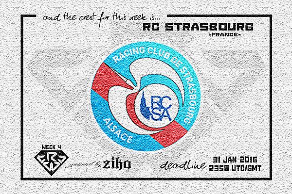 CRCW - WEEK 4: RC Strasbourg