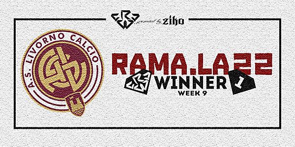 CRCW - WEEK 9 - WINNER