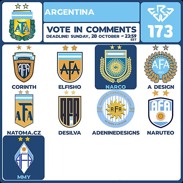 CRCW 173 VOTING - ARGENTINA