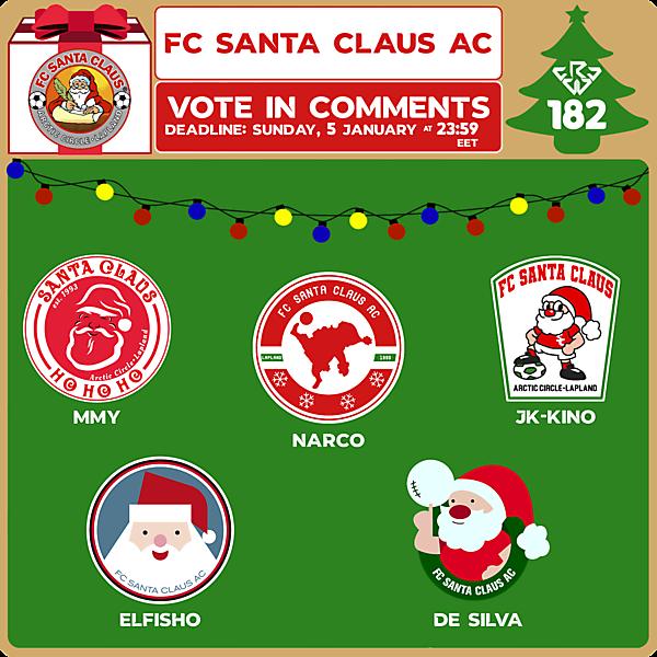 CRCW 182 CHRISTMAS SPECIAL EDITION VOTING - FC SANTA CLAUS AC + ANNOUNCEMENT IN THE DESCRIPTION