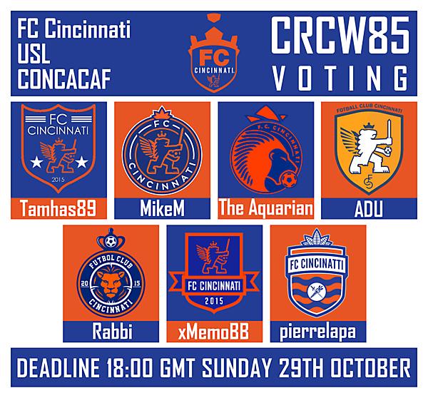 CRCW 85 - VOTING