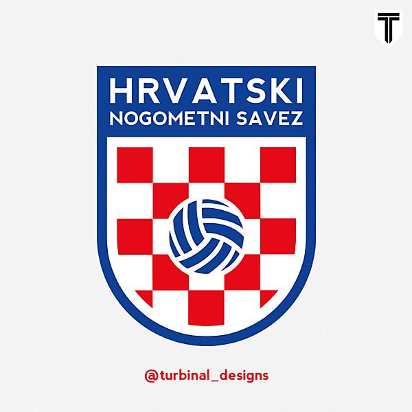 Croatia HNS Crest Redesign