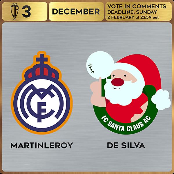 CROTM 3 VOTING - DECEMBER