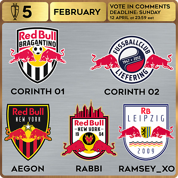 CROTM 5 VOTING - FEBRUARY