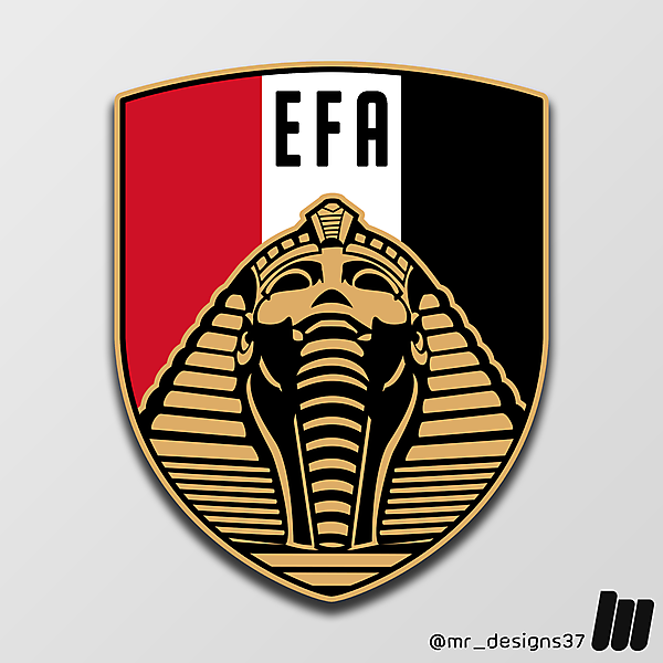 Egyptian FA Crest Redesign