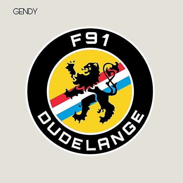 F91 Dudelange - Crest Redesign