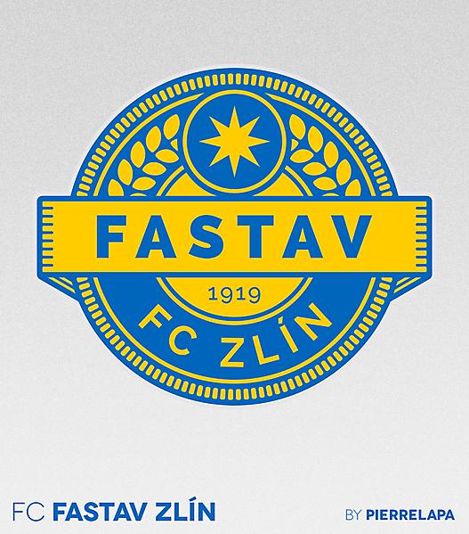 FC Fastav Zlín - Czech First League - crest redesign