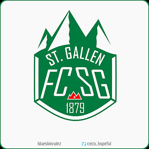 Fc St. Gallen Crest Redesign