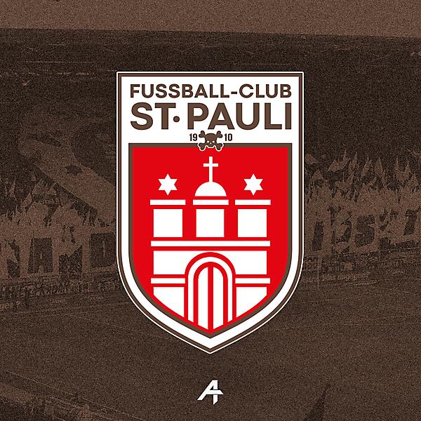 F.C St. Pauli logo redesign