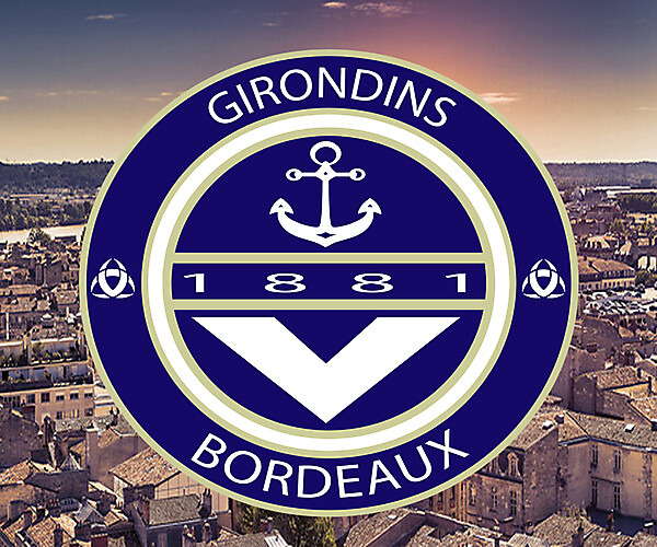 GIRONDINS BORDEAUX REBRAND