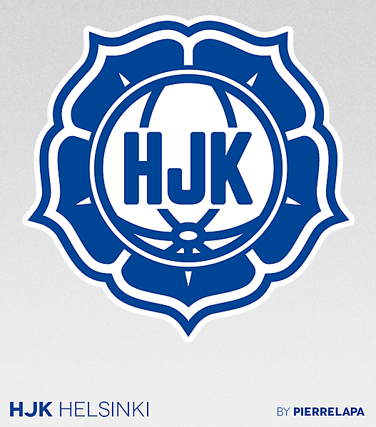 HJK Helsinki - Finland - crest redesign