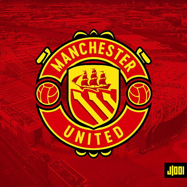 Manchester United - Crest Redesign
