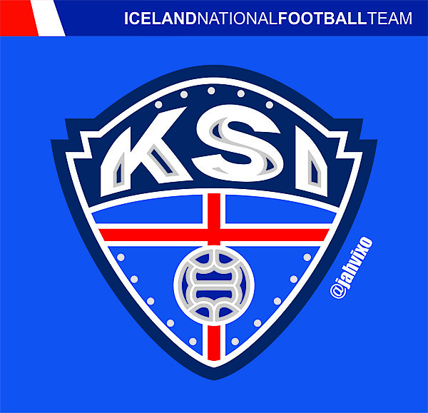 Redesign Iceland National Football Team