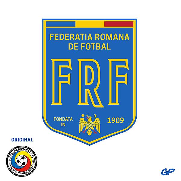 Romania Logo Redesign