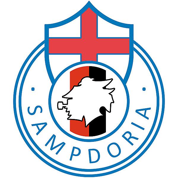 UC Sampdoria - Logo redesign +SPECIAL YOUTUBE VIDEO !
