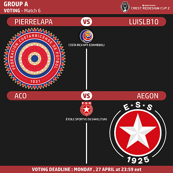 Group A - Voting - Match 6