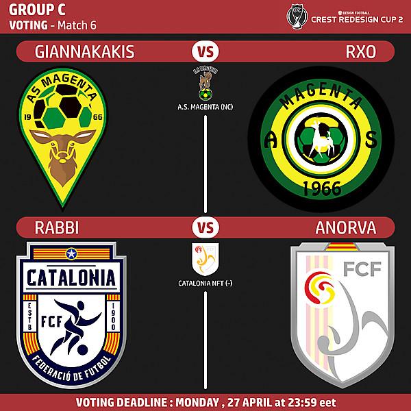 Group C - Voting - Match 6