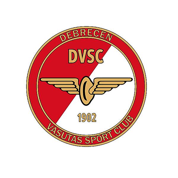 Debrecen VSC crest redesign