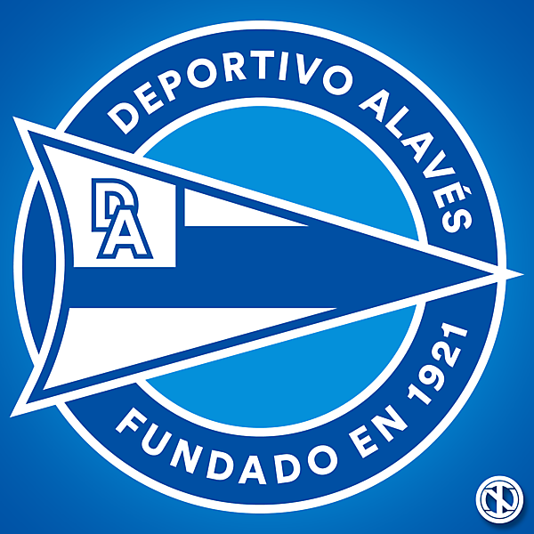 Deportivo Alavés | Crest Redesign Concept