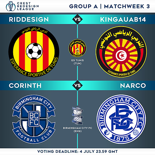 Group A - Matchweek 3 - Voting