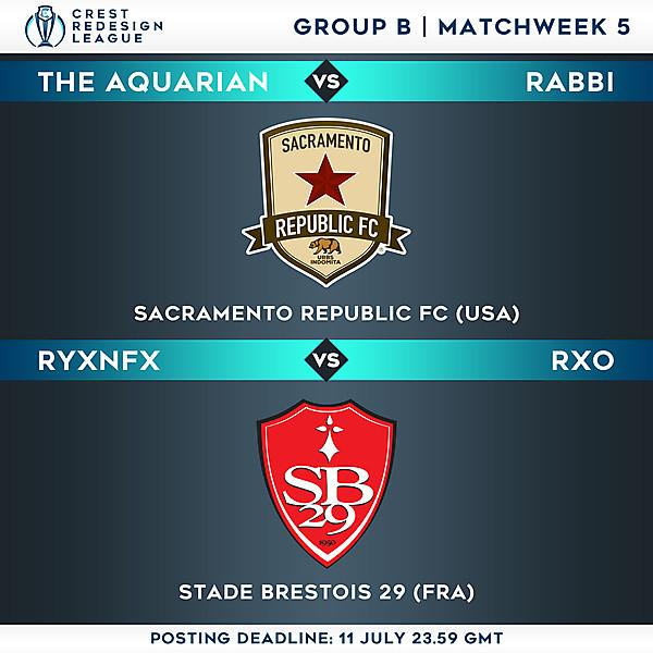 Group B - Matchweek 5