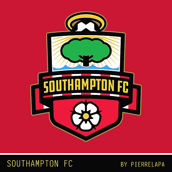 Southampton FC - crest redesign - v2