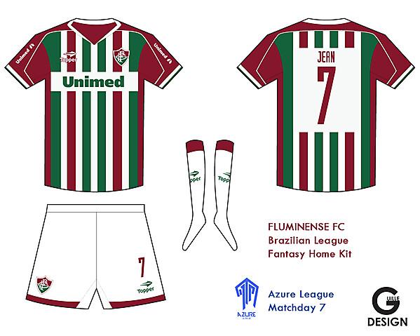 Fluminense FC Fantasy Home Kit- Azure League Match day 7
