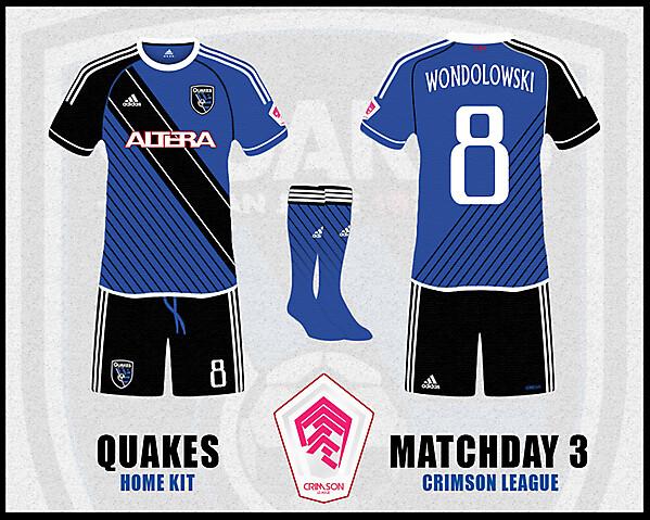 SAN JOSE QUAKES - Crimson League - Matchday 3 -