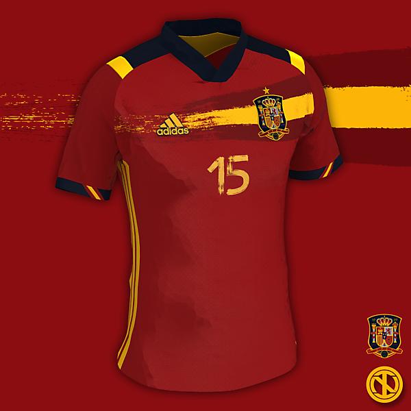 Spain   Euro 21 Home Kit Concept