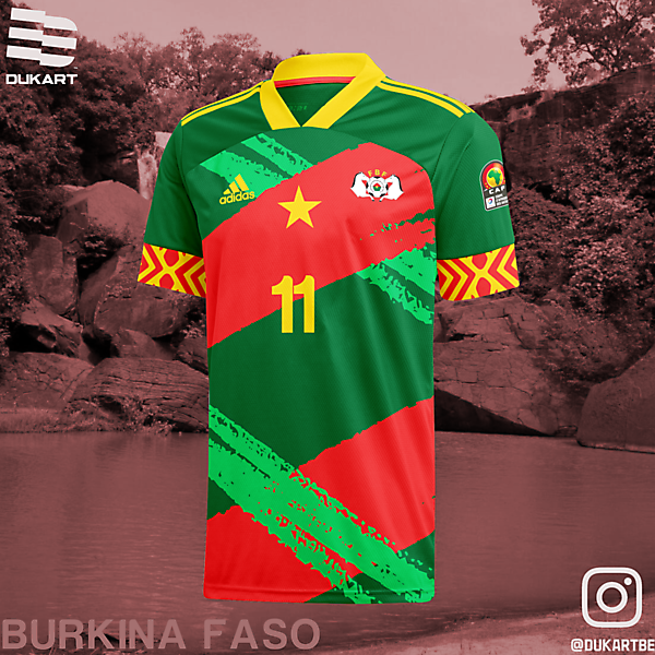 Burkina Faso Home Kit