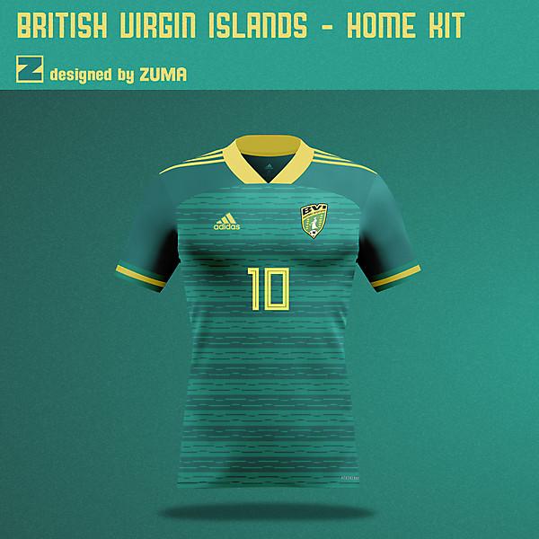 British Virgin Islands | Adidas | Home Kit