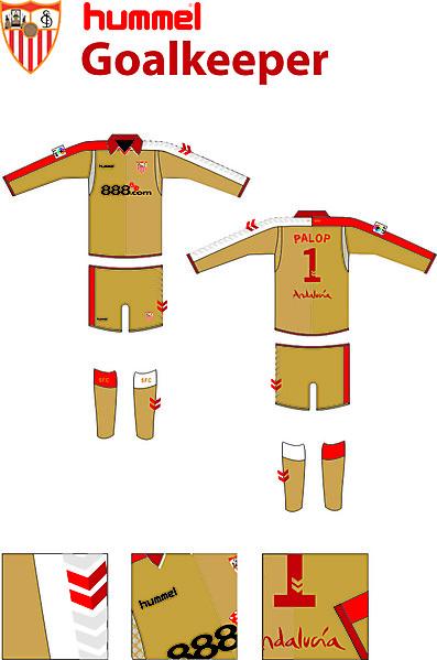Sevilla Hummel Goalkeeper Kit