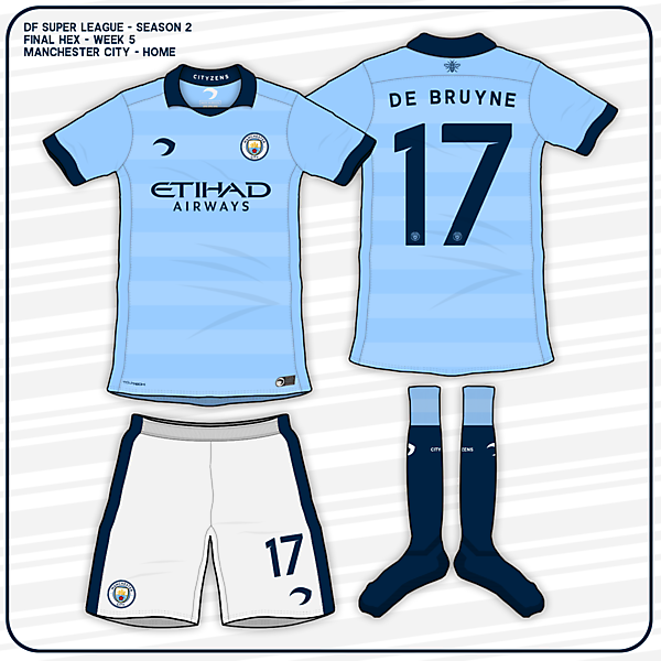 Manchester City - Home Kit